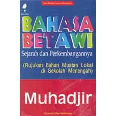 Bahasa Betawi (Print On Demand)