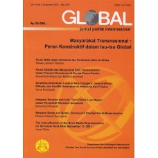 Global Jurnal Politik Internasional Vol.10 No.2 Desember 2010 - Mei 2011