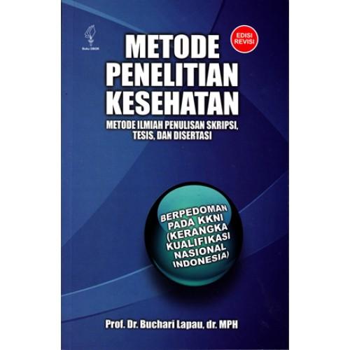 Metode Penelitian Kesehatan Edisi Revisi Toko Buku Obor Online