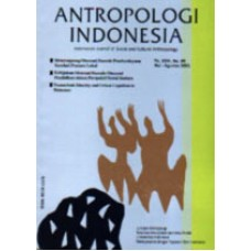Antropologi Indonesia 56 s/d 76 Th.2000 (Print On Demand)