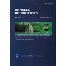 Annales Bogorienses Vol.14 No.1, 2010