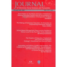 Journal of Indonesian Social Sciences and Humanities (JISSH) Vol Two