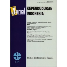 Jurnal Kependudukan Indonesia Vol. VI No.1, 2011