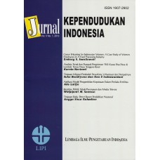 Jurnal Kependudukan Indonesia Vol.V No.1, 2010