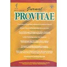 Jurnal Provitae Volume 2, No. 1, Mei 2007