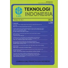 Jurnal Teknologi Indonesia Volume 34 No.1 2011
