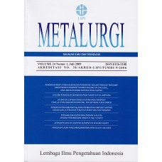 Metalurgi Vol.24 No.1, Juli 2009
