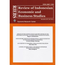 RIEBS (Review of Indonesian Economic and Business Studies) November 2011 Vol.2 No.2